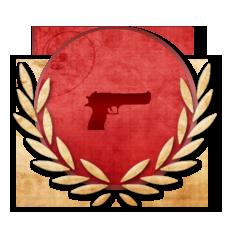 Achievement Pistol Rookie