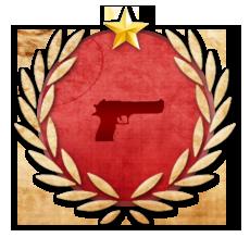 Achievement Pistol Master