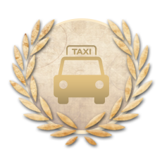 Achievement Experienced Taxi Driver